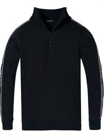 Scotch & Soda Half-zip track top in felpa quality