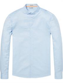Scotch & Soda Longsleeve melange oxford shirt