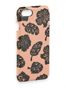 Scotch & Soda Printed leather case fitting iPhone