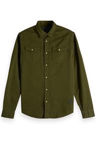 Scotch & Soda REGULAR FIT Garment dyed western in