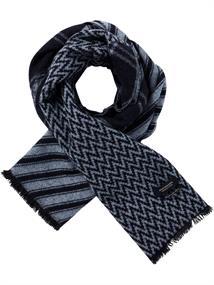 Scotch & Soda Wool blend scarf in mix & match jac