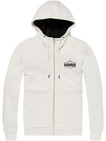 Scotch & Soda Zip-thru hoodie with contrast rib a