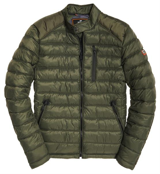 Superdry COMMUTER QUILTED BIKER
