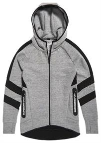 Superdry CORE GYM TECH PANEL ZIPHOOD