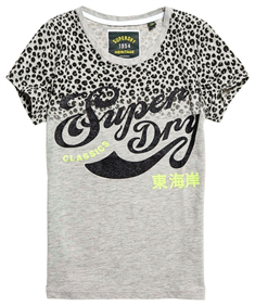 Superdry LEOPARD SPOT ENTRY TEE