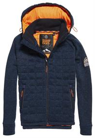 Superdry STORM QUILTED ZIPHOOD