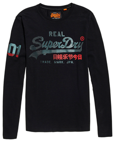 Superdry VINTAGE LOGO 1ST DUO L/S TEE