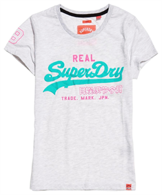 Superdry VINTAGE LOGO NEON ENTRY TEE