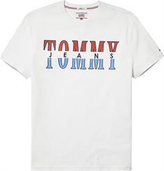 Tommy Jeans TJM SPLIT LOGO TEE
