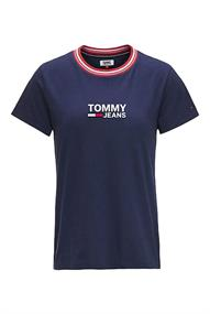 Tommy Jeans TJW RIB STRIPE NECK