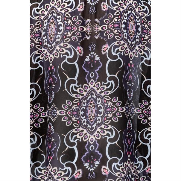 Yaya Blouse with paisley print