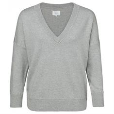 Yaya Boxy V-neck sweater