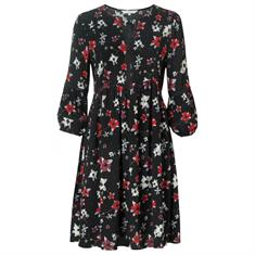 Yaya Dress with flowers and embroid