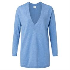 Yaya Fine knitted V-neck sweater