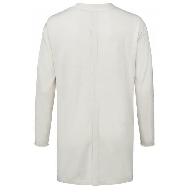 Yaya Fine knitted V-neck sweater