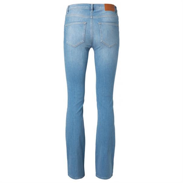 Yaya High waist flared denim -32