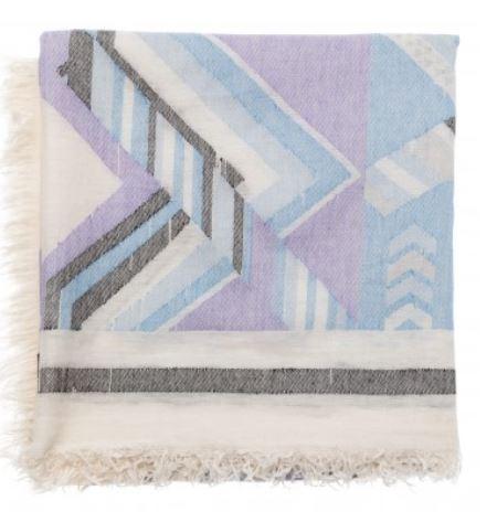 Yaya Jacquard scarf