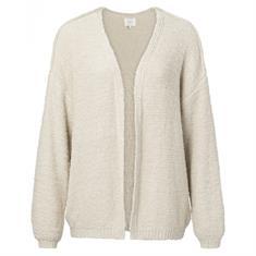 Yaya Structured knitted cardigan