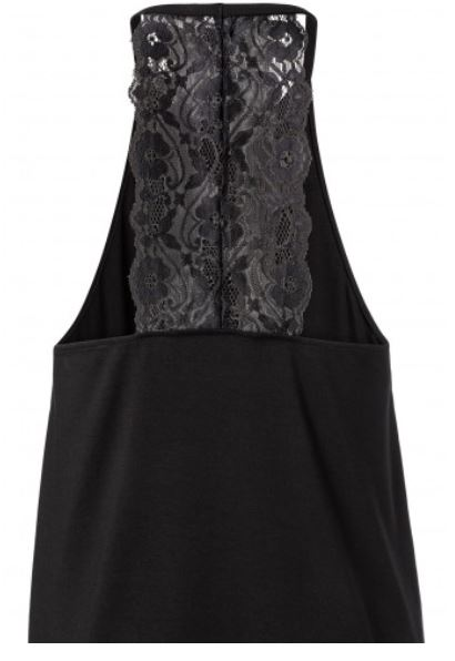 Yaya Top with lace detail on back