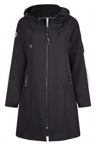 ZOSO SOFTSHELL HOODED COAT